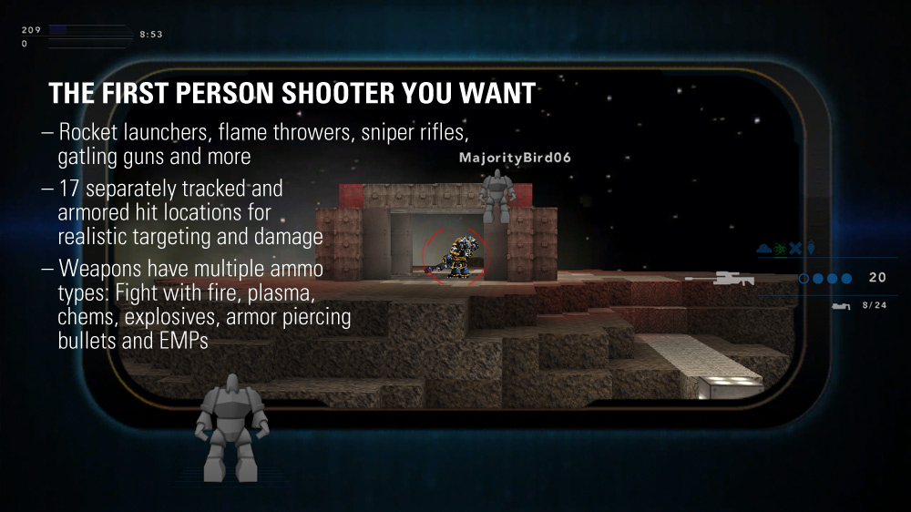 The first person shooter you want